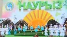 Казахстанцы отмечают Наурыз массовыми гуляниями и конным шоу